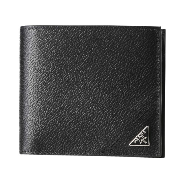 Prada Other - Prada Nero Black Leather Bifold Wallet